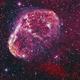 Crescent Nebula narrowband,                                Amir Salehi