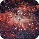 Pillars of Creation in the Eagle Nebula (M16),                                Dan Gallo
