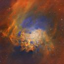 IC 405 Flaming Star Nebula in SHO,                                Randy Lindstrom
