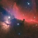 Horsehead IC434 HaRGB,                                Jesse Priolo