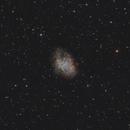 M1 The Crab Nebula (RGB),                                Andreas Eleftheriou