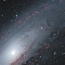 M31 - Core and Ha regions,                                BernieLightMachine