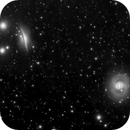 NGC 1055 + NGC 1068,                                Richard Pattie