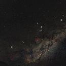 Widefield Orion/Pleiades/California/Rosette,                                KiwiAstro