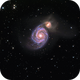 M51 - Whirlpool galaxy,                                Michael Caligiuri