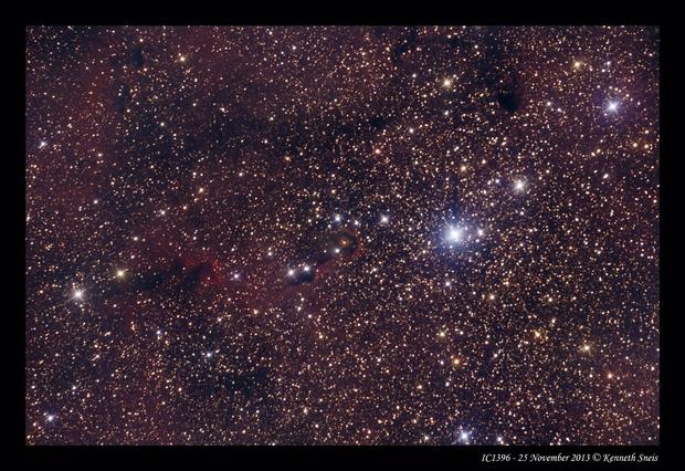 IC1396,                                Kenneth Sneis