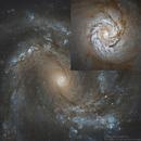 M 61's core up close,                                Steve Cooper