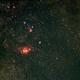 M8 & M20 Wide Field,                                gigiastro