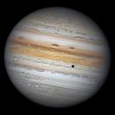 Jupiter with three moons,                                周志伟