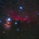 Horsehead & Flame nebula,                                rflinn68