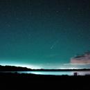 Comet Neowise 14mm Samyang f2.8,                                George B Grimm