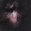 M17 nébuleuse oméga,                                pam-pg