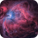 M42 - The Great Orion Nebula in 2-channel Narrowband,                                TomBramwell