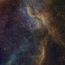 Propeller Nebula, DWB 111/119 (Simeis 57), SHO,                                Nico Carver