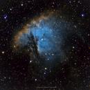 Pacman Nebula (NGC 281),                                Jenke ter Horst