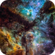 Inside Eta Carinae Nebula,                                andrealuna