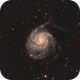 The Pinwheel Galaxy - Messier 101,                                Tertsi