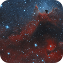 IC 1871 - small emission nebula in Soul Nebula Sh2-199,                                Falk Schiel