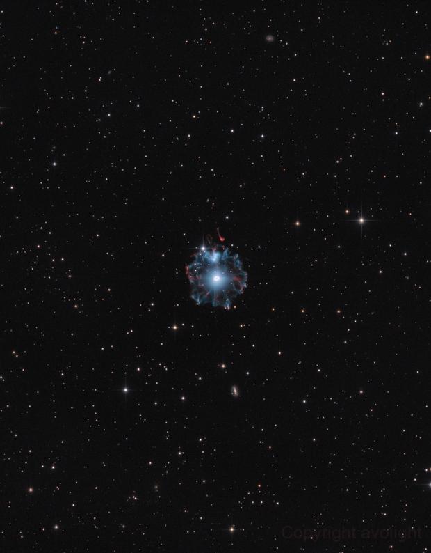 NGC6543,                                avolight