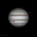 Jupiter with Callisto, Io and Ganymede,                                Alexander Sorokin