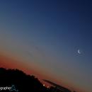 Moon and Venus Conjunction at Sunrise /1,                                Giuseppe Petricca