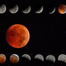Eclipse lunaire du 21/01/2019,                                Séb GOZE