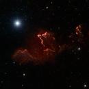 IC 63 Cassiopeia's Ghost RGB + Ha + SII,                                Aaron Freimark