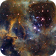 Tone mapped Rosette Nebula,                                Ethan Wong