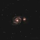 Whirlpool galaxy,                                astroman2050