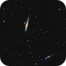 Whale Galaxy (NGC4631) and Hockey Stick Galaxy (NGC 4656/57),                                KiwiAstro