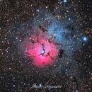 Messier 20 - Trifid Nebula,                                Maicon Germiniani