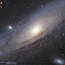 Andromeda Galaxy (Ha pending) ,                                alpheratzlaboratory