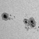 Sonnenfleckgruppe vom 23.06.2015,                                Benni