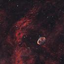 NGC 6888 Crescent Nebula 20210720 24000s HOO 01.2.3,                                Allan Alaoui
