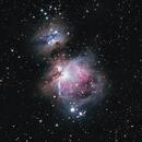 Orion Nebula with Canon 70-200 F4 lens,                                Oscar Shu