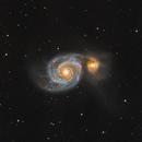 M 51 Whirlpool Galaxy,                                Stefan-Harry-Thrun