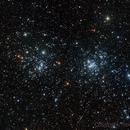 Double Cluster - NGC869/NGC884,                                TimotheusIan
