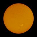 Full Disk of Sun on June 10, 2020,                                Chappel Astro