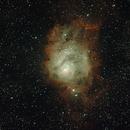 M8 - The Lagoon Nebula 2018,                                sj777