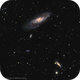 M 106 and NGC 4217,                                Ron Kramer