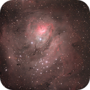 M 8 - Lagoon Nebula,                                Jorge stockler de moraes