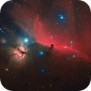 The Horse Head and Flame Nebulae in HaRGB,                                Matthew Sole