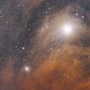 Antares and NGC 6144,                                alpheratzlaboratory