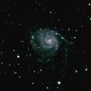 M101 Pinwheel Galaxy,                                normmalin