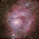 Messier 8,                                Mark Sansom