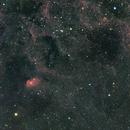 Sh2-101, Tulip Nebula Area, HaRGB, Wide Field,                                Stephen Garretson