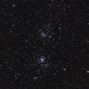 NGC 869 e NGC 884 - Doppio ammasso di Perseo,                                Salvatore Cozza