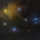 clouds around Antares and Rho Ophiuchi,                                Ricardo L Pinto