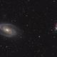 M81 and M82 - HaLRGB,                                geeklee
