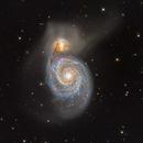 M51 Whirlpool Galaxy,                                dkuchta5